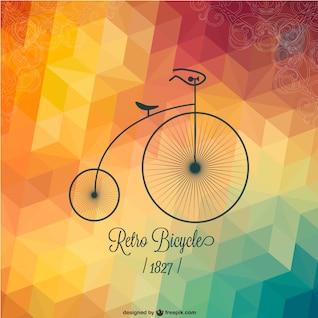 Free bicycle retro design
