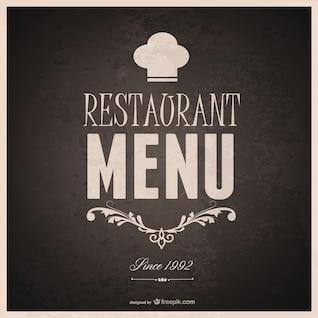 Food menu template design