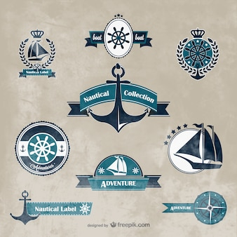 Nautical vector graphics