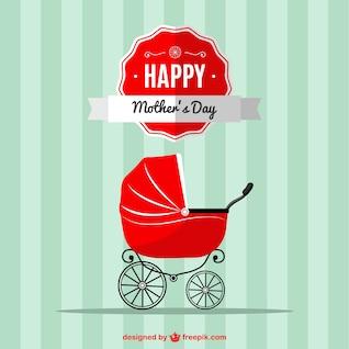 Mother's day baby stroller design