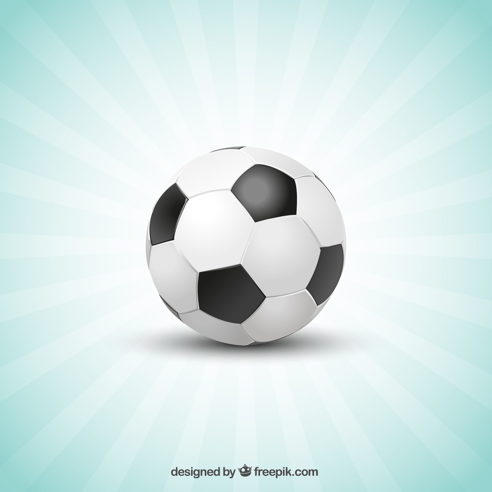Football sunburst template