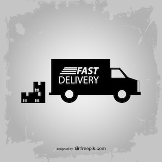 Fast delivery vector icon
