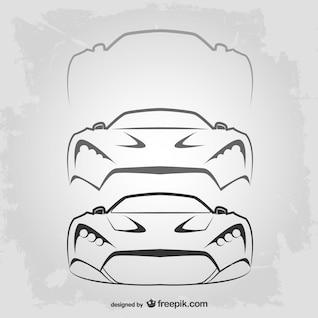 Vitnage car logo template