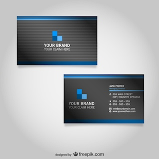 Business card free graphics