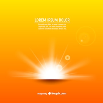 Sunrise vector background