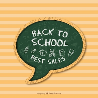 Back to school free vector