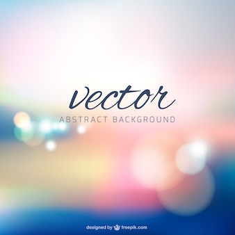 Blur background free vector