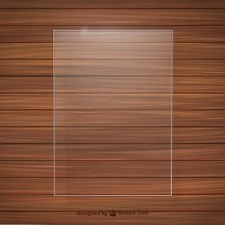 Crystal frame wood texture