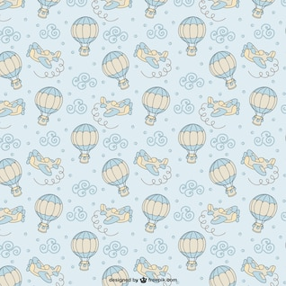 Sky graphics pattern