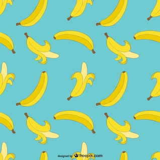 Banana pattern printable