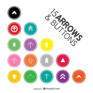 Arrow buttons pack