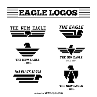 Eagle logos pack