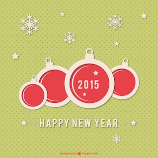 Happy New Year background for 2015
