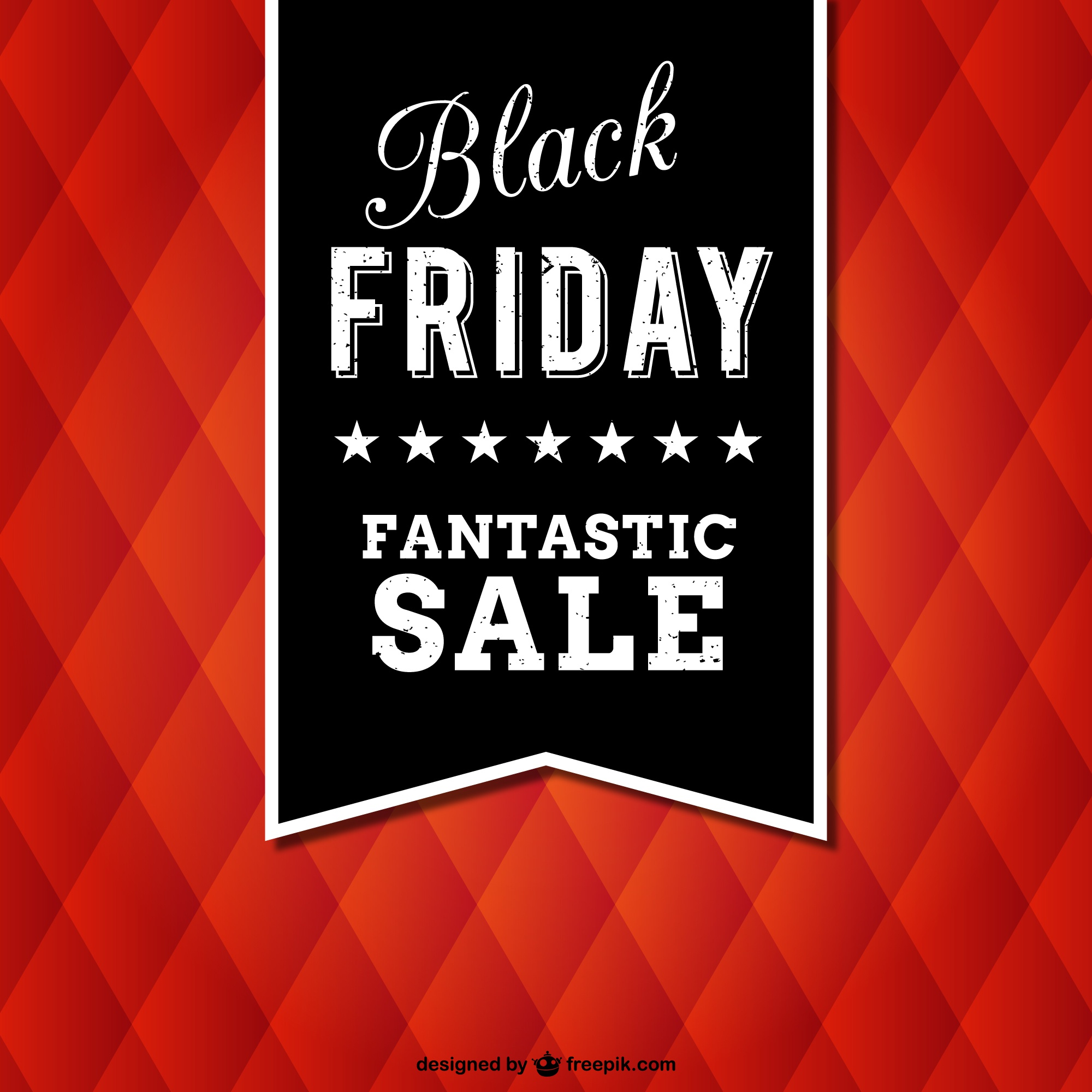 Black Friday vector with texture