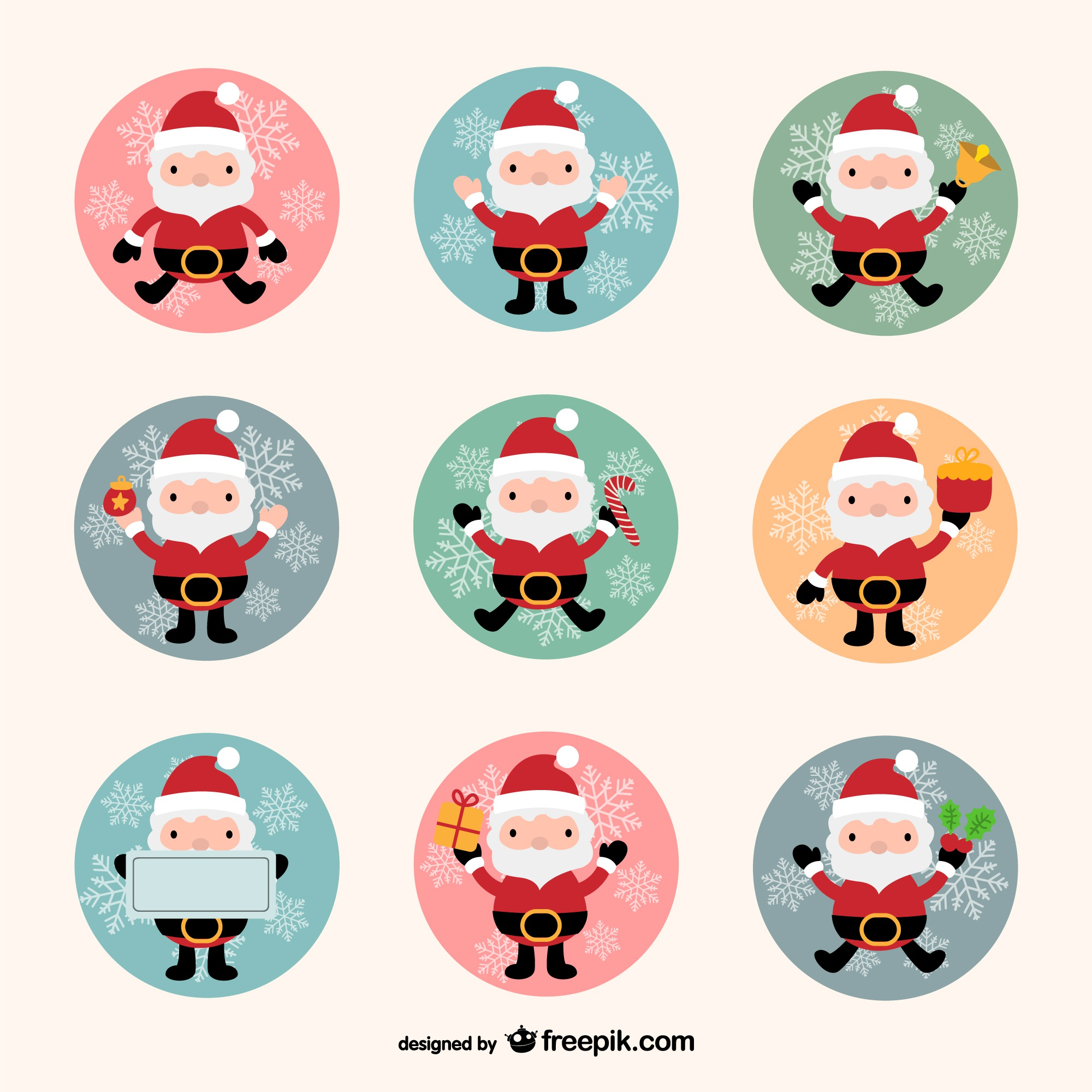 Santa Claus collection