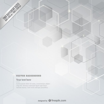 Abstract cubes background template