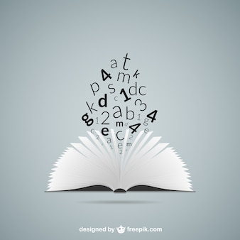 Education concept with book