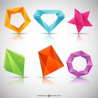 Polygonal logotypes