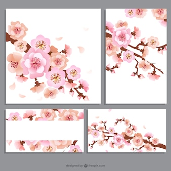 Flower banners pack