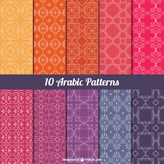 Arabic patterns pack