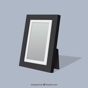 Black frame template