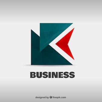 Geometrical logo template
