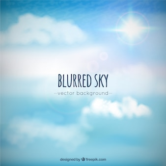 Blurred sky background