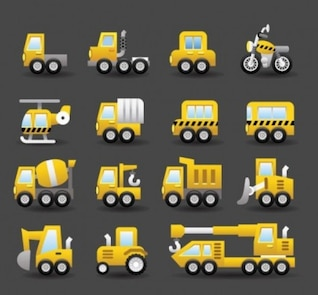 car lorry transport vector pack
