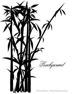 Exotic tree illustration