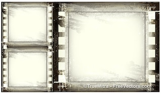 Vintage grunge frames background