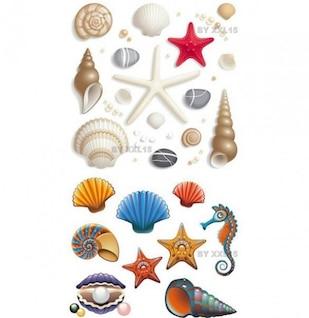 modern lovely seashell icon vector