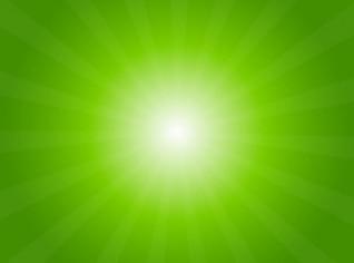 Green light radial background