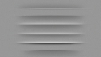 Gray web page dividers
