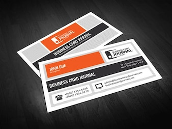 Metro Style Business Card Template