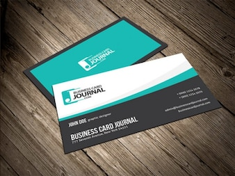 Smooth & Flowy Creative Business Card Template