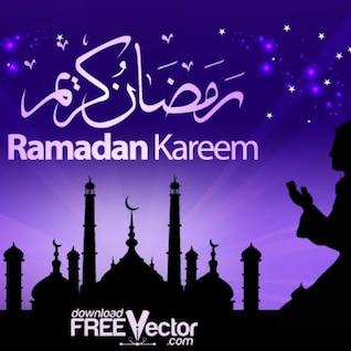 Beautiful ramadan kareem illustration
