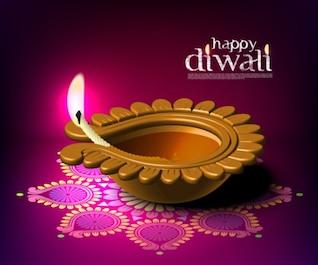 diwali beautiful background    vector material