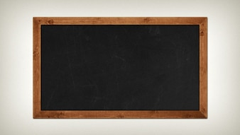 Old chalkboard PSD template