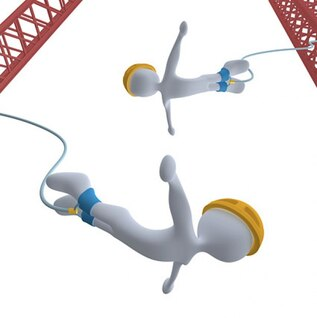 d play little bungee picture material