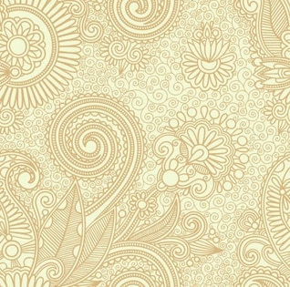 abstract seamless floral pattern background