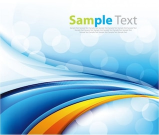 free abstract blue background vector art