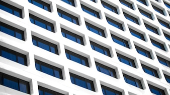 A detail shot of Office building window background