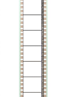 A movie film strip