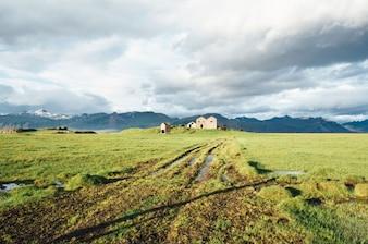 Abandoned farmhouses