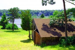 放棄された小屋