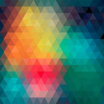 abstract background made by colorful triangles.