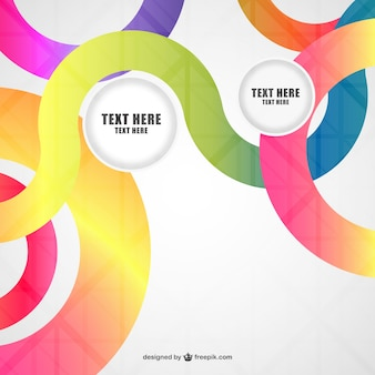 Abstract background vector design elements