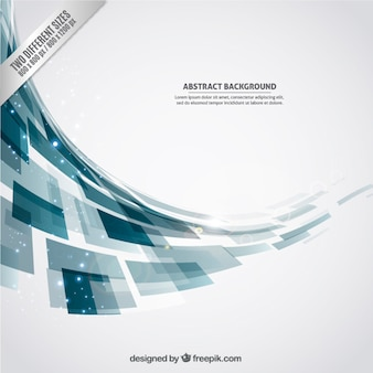 Abstract background with geometric shapes