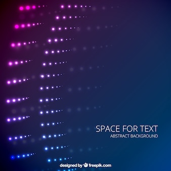 Abstract background with light spots