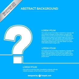 abstract background with question mark